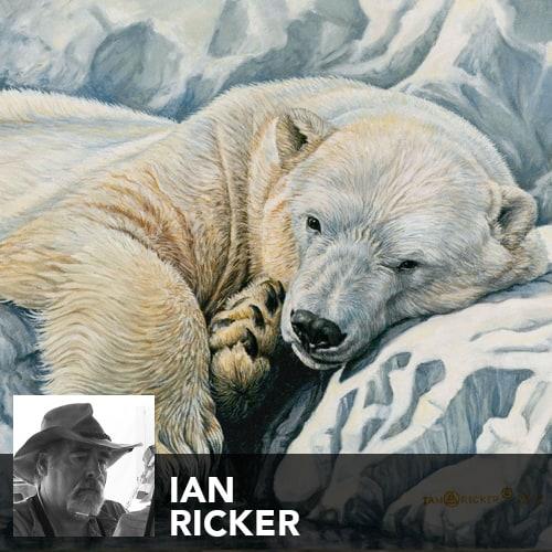 Artist Ian Ricker