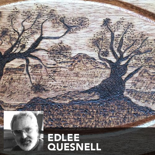 Artist Edlee Quesnell