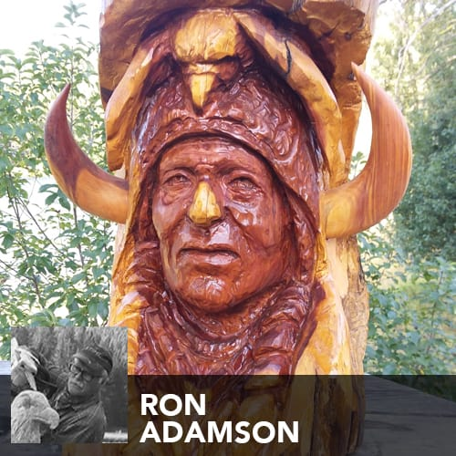 Artist Ron Adamson